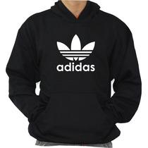 Blusa Adidas Moleton Canguru