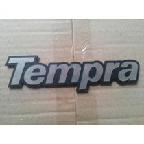 Emblema Tempra Da Tampa Traseira Original Fiat