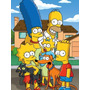 Caderno The Simpsons 10 Materia