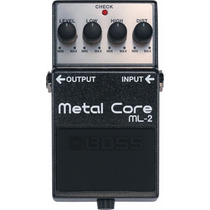 Pedal De Efeito Boss Metal Core Ml2 Distorção Para Guitarra