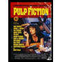 Quadro Poster Cinema Filme Pulp Fiction 0196 Com Moldura A3