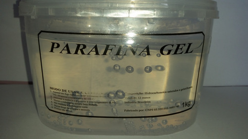 Parafina Gel Cristal - 1kg