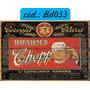 Placas Decorativas Retro Vintage Cerveja Coca Cola Pin Up