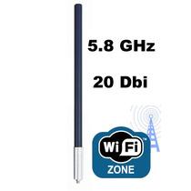 Antena Omni 20 Dbi 5.8 Ghz Para Bullet Mikrotik E Provedores