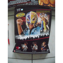 Wwe Mascara E Boneco Do Rey Mysterio 16 Cm