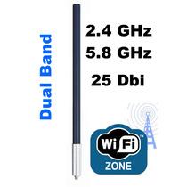 Antena Omnidirecional 25dbi - Internet Wireless Via Rádio