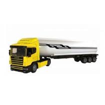 Miniatura Caminhão Scania R124 Transp. Petroleo 1:43 New Ray