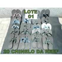 Lotes De Chinelo Reef. 20 Peças (99,99 ) Numeros Variados