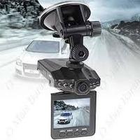 Câmera Filmadora Veícular Hd Dvr Visor Lcd 2,5 + Cartão 16gb