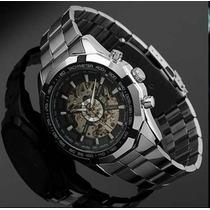 Relógio Importado Winner Skeleton Automático! Barato