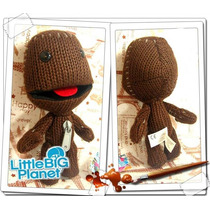 Boneco De Pelúcia Sack Boy Little Big Planet 16 Cm Ps3