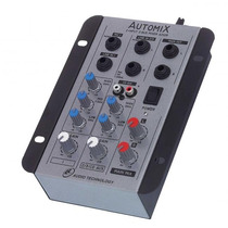 Mesa De Som 2 Canais Ll Automix A202r - 12 Volts - Carro