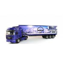 Miniatura Caminhão Conteiner Man F2000 1:43 New Ray