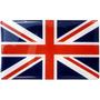 Bandeira Da Inglaterra Resinada P\ Land Rover Adesivo