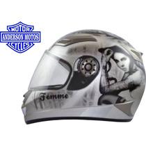 Capacete Femme Tamanho 58 - Helmets Frete Grátis