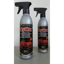 Cera Automotiva Sky-wax Para Limpeza E Cristalização 500ml