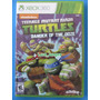 Teenage Mutant Ninja Turtles - Tartarugas Ninja - Xbox 360