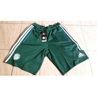 Bermuda Palmeiras Elanka Adidas Verde Tam P