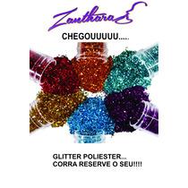 Glitter Poliester Para Peliculas De Unhas 30grs