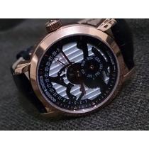 Relógio V- Constantin Automatico Couro Novo Raro
