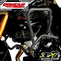Protetor Motor E Carenagem Roncar Preto V-strom 1000 2014/..
