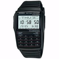 Relógio Casio Masculino Data Bank Calculadora Dbc-32