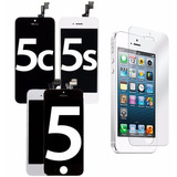 Display Lcd Touch Frontal  Iphone 5 5c 5s + Pelicula