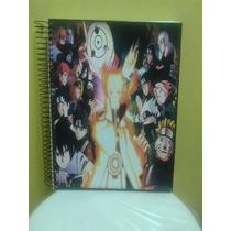 Caderno De Anime Naruto Novo- 10 Materias - 200 Folhas