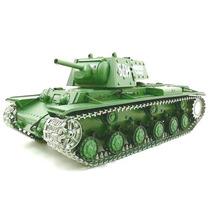 Tanque Russo Kv-1 1/16 Rc- Esteiras Metal Infra/sons/fumaça