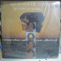 Lp Caetano Gal Costa Gilberto Gil Temporada De Verão Vg