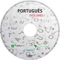 Dvd Videoaula De Português Para Concursos Públicos