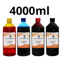 Kit 4 Tinta Para Impressora Hp 122 2050 3050 1000 2000