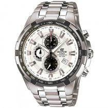 Relógio Casio Ef-539d-7avdf Edifice Taquímetro - Refinado