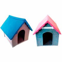 Casa Cães Plástica Desmontável De Pequeno Porte N 01