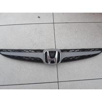 Grade Parachoque Honda Fit Com Emblema E Friso 2007/2008