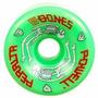 Rodas Powell Peralta G-bones 64mm 97a - Verde Pronta Entrega