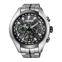 Citizen Cc1054-56e Satellite Wave Air Gps + Titânio Satelite