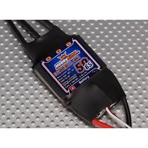 Esc / Speed Control Hobby King Ss Heli 50-65a Com Bec