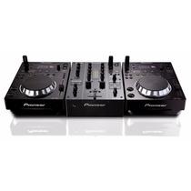Kit Dj Pioneer 2 Cdj350 + Mixer Djm350 Pioneer Garantia Novo