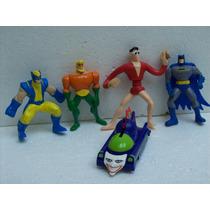 Brinquedo Antigo Mc Donald Bonecos Marvel Batman Lote C/05