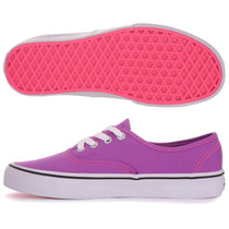 Tênis Vans Authentic Neon Roxo Unissex Original