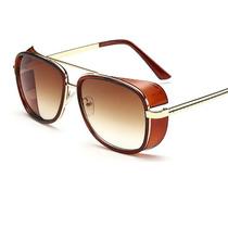 Oculos 2014 Homem De Ferro 3 Mats Ray Tony Marrom Gold