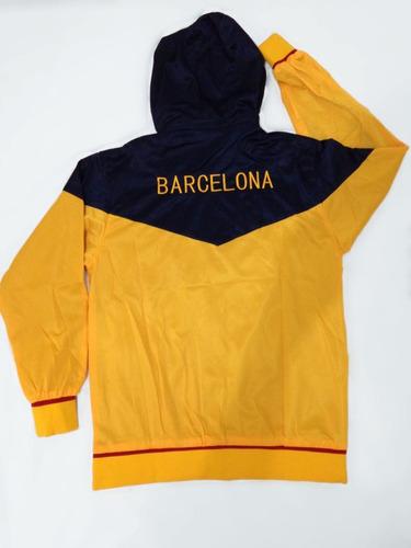 43f929f359 Agasalho Do Barcelona Amarelo Azul Conjunto Blusa E Calça. Preço  R  184 99  Veja MercadoLibre. Produto novo