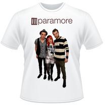 Camiseta Paramore Never Ends Rock Frente Verso Camisa #2