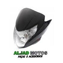 Carenagem Farol Completa Honda Titan150 Mix 2011 12 13 Preto