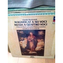 **monteverdi** **lp Messa A Quattro Vocci**