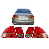 Lanterna Civic 2001 2002 2003 2004 2005 2006 Jogo Completo