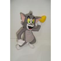 Gato Tom Amigo Do Jerry Hanna Barbera Tecido +- 16cm Usado.