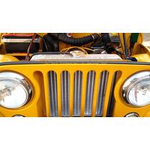 Radiador De Aluminio Jeep Willis Hot Rod V8 Antigos Etc