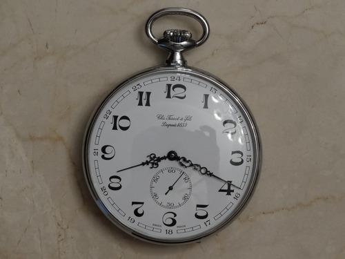 6ee54f1dd8e Relógio De Bolso Suíço - Tissot - 17 Jelwes - Duas Tampas